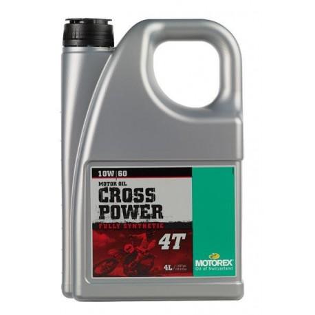 ACEITE MOTOREX CROSS POWER 4T 10W60 (4 LITROS)