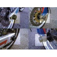 KIT TAPONES DE EJE PARA SUPERMOTARD