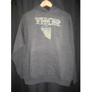 OFFER THOR HOODIE COLOUR GREY SIZE XL