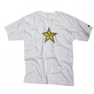 OFFER SHIRT ONE ROCKSTAR WRITING WHITE SIZE L