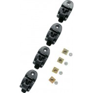 SET OF BUCKLES FOR TCX PRO BOOTS STRAPS