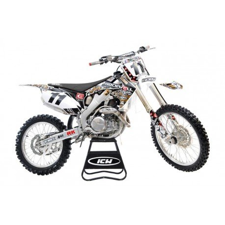Offer Kit Stickers Enjoy Rockwell Crf 250 10 13 Y Crf 450 09 12