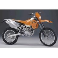 DESPIECE COMPLETO DE KTM EXC 520 AÑO 2002