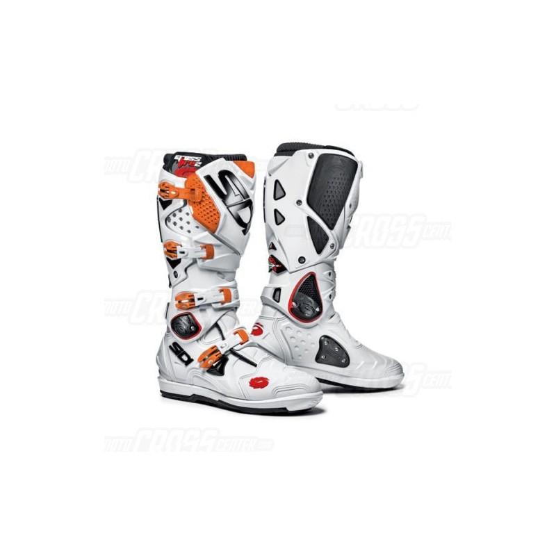 sidi boots crossfire 2 srs white orange bosof22118. Black Bedroom Furniture Sets. Home Design Ideas