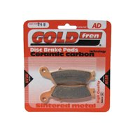 SINTERED METAL FRONT BRAKE PADS BMW GOLDFREN