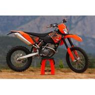 DESPIECE COMPLETO DE KTM EXC 250-F AÑO 2008