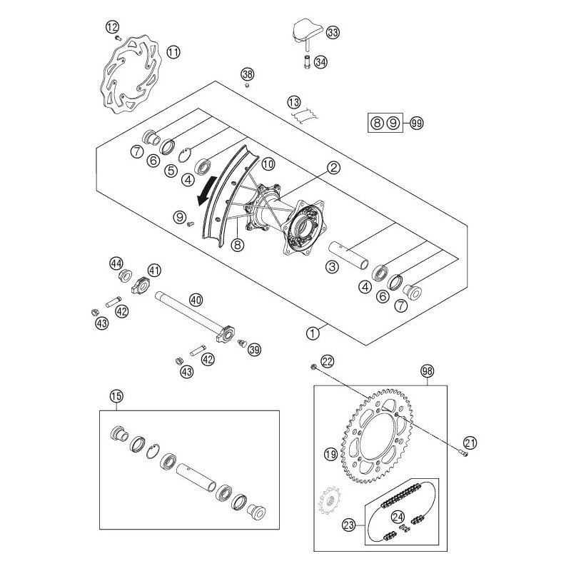 M4 Carbine Parts Diagram