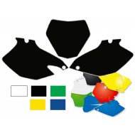 OFFER Number plates kit MX Honda CRF250R 04-05, Black