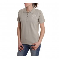 OUTLET POLO HUSQVARNA LEGEND SAND MUJER TALLA XS