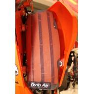 RED PROTECTOR RADIADOR HONDA CRF250R 14-16 CRF450R 13-15