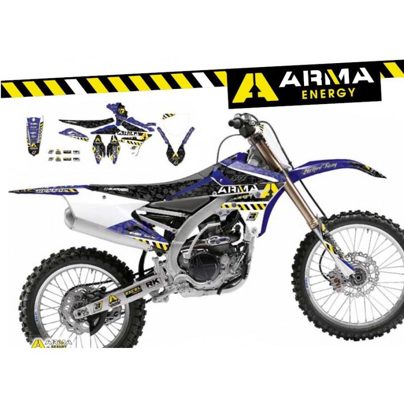 Kit De Adhesivos Arma Energy Yamaha Yz 125  250 Ufo Restyl