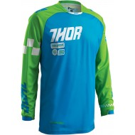 OFFER THOR PHASE RAMBLE BLUE / GREEN 2016 YOUTH JERSEY - SIZE S