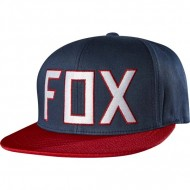 GORRA FOX ASSIST SNAPBACK HAT BLUE AND RED