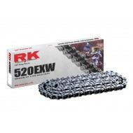 CHAIN RK WITH RINS 520EXW COMPETICION