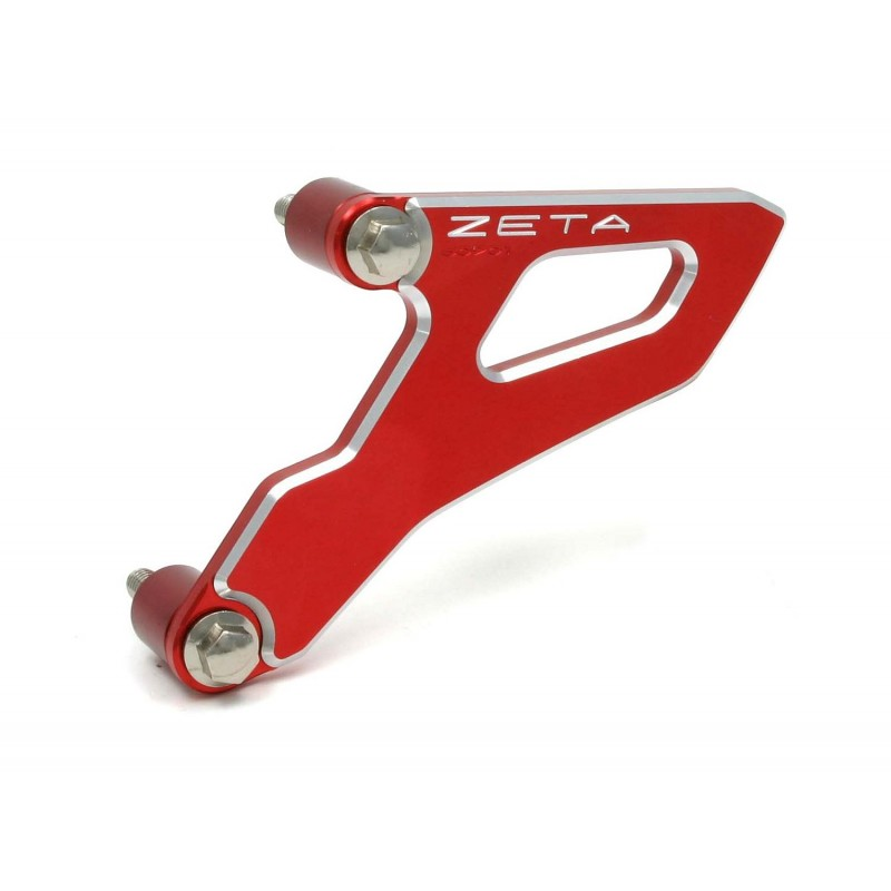 Zeta Aluminum Front Sprocket Cover CRF450//150R Red