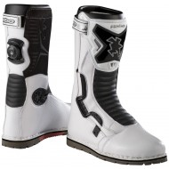 BOTAS HEBO TECH COMP COLOR BLANCO