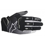 OUTLET GUANTES ALPINESTARS TECHSTAR NEGRO / BLANCO