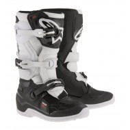 BOTAS INFANTILES ALPINESTARS 2020 TECH 7 S COLOR NEGRO / BLANCO