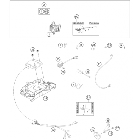 35 - condensador 2200 mf 50311035000 - motocrosscenter com