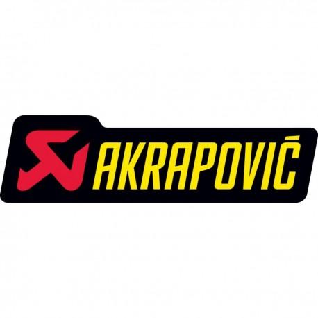 ADHESIVO AKRAPOVIC 90 X 27 MM