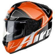 OUTLET CASCO INTEGRAL AIROH WAY ORANGE GLOSS