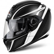OUTLET CASCO AIROH INTEGRAL STORM SHARPEN BLANCO MATE