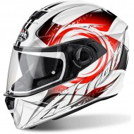 OUTLET CASCO AIROH INTEGRAL STORM ANGER ROJO BRILLO