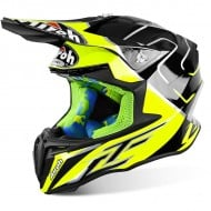 OFFER OFFROAD HELMET AIROH TWIST CAIROLI MANTOVA GLOSS