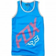 OUTLET CAMISETA INFANTIL FOX YOUTH CLOSED CIRCUIT TANK AZUL