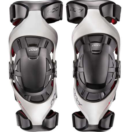Mx Knee Braces >> Offer Pod Mx K4 Knee Brace White Red Par No Stock