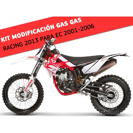 KIT DE MODIFICACION A GAS GAS RACING 2013 (VALIDO PARA GAS GAS EC 2001-2006)