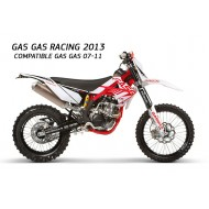 KIT PLASTICOS Y ADHESIVOS GAS GAS RACING 2013 VALIDOS GAS GAS 2007-2011
