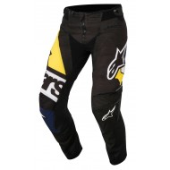 OFFER PANT ALPINESTARS TECHSTAR FACTORY COLOR BLACK / DARK BLUE / WHITE / YELLOW