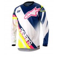 OUTLET CAMISETA ALPINESTARS RACER SUPERMATIC 2018 COLOR BLANCO