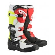 OFFER BOOTS ALPINESTARS TECH 3 2020 BLACK / WHITE / YELLOW / RED COLOUR