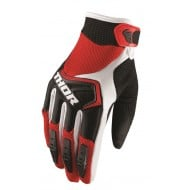 OFFER THOR YOUTH GLOVES SPECTRUM OFFROAD 2019 RED/BLACK