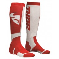 THOR YOUTH SOCK MX 2020 RED/WHITE - ONE SIZE