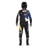 OFFER COMBO ALPINESTARS TECHSTAR FACTORY COLOR BLACK / DARK BLUE / WHITE / YELLOW