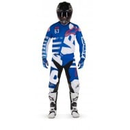 OFFER COMBO ALPINESTARS RACER BRAAP COLOR BLUE / WHITE / RED