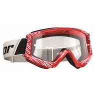 THOR GOOGLES COMBAT CAP OFFROAD RED/WHITE 2018