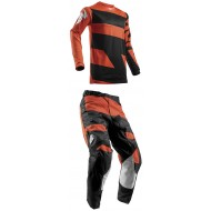 OUTLET COMBO INFANTIL THOR S8Y PULSE LEVEL NEGRO/NARANJA 2018