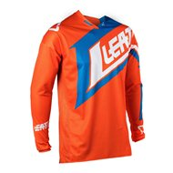 OUTLET CAMISETA LEATT GPX 4.5 LITE COLOR NARANJA / AZUL