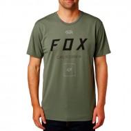 CAMISETA FOX GROWLED TECH TEE COLOR GRASA OSCURA