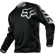 FOX YOUTH BLACKOUT JERSEY BLACK COLOUR