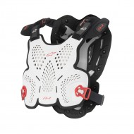 ALPINESTARS A-1 ROOST GUARD 2021 WHITE/BLACK/RED COLOUR