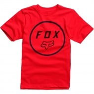 OUTLET CAMISETA INFANTIL JUNIOR FOX SETTLED ROJO OSCURO