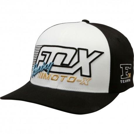 LIQUIDACIÓN GORRA FOX FLECTION FLEXFIT NEGRO 21104-001 ... dd985d559c3