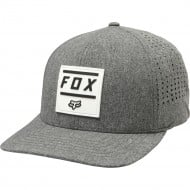 GORRA FOX LISTLESS FLEXFIT BREZO GRAFITO