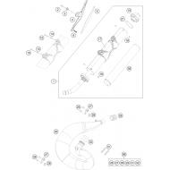 LIQUIDACION BUFANDA ESCAPE HOMOLOGADA KTM/HUSQVARNA/HUSABERG 250/300 12-16