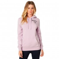 OFFER FOX WOMEN ARCH PULLOVER HOODY LILAC